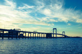 Throgs Neck Bridge NYC — Stock Photo