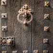 Closeup Vintage Door — Stock Photo