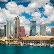 Tampa Florida skyline — Stock Photo