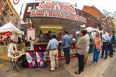 Fiesta de la ciudad de nueva york de san genaro — Foto de Stock