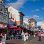 Atlantic City Boardwalk NJ — Stock Photo