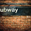 New York City Subway Sign — Stock Photo #36854579