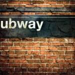 New York City Subway Sign — Stock Photo #36854579