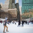 Citi Pond Bryant Park NYC — Stock Photo