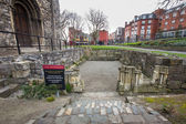 Christ Church Dublin Ruins — Stock Photo