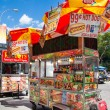 NYC hot dog stand — Stock Photo #39208671