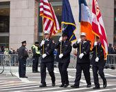 St. Patricks Day Parade NYC — Stock Photo