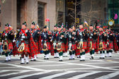 St. Patricks Day Parade NYC — Stock Photo