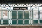 Yankee Stadium Train — Stock Photo