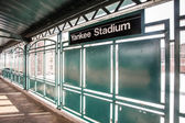 Yankee Stadium Train — Stock Photo