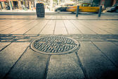 Manhattan inferiore strada — Foto Stock
