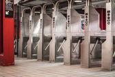 метро турникет — Стоковое фото