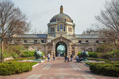 Bronx Zoo Building NYC — 图库照片