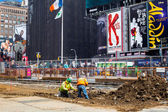 Times Square NY Redesign Project — Stock Photo
