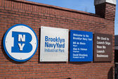 Brooklyn Navy Yard — Stock Photo