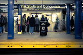 NYC Subway — Stock Photo