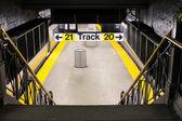 Train Station NYC — Stock Photo