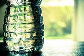 Plastic water bottle — Stock Photo