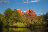 Cathedral Rock Sedona AZ — Stock Photo