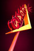 Vegas işareti — Stok fotoğraf
