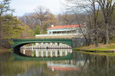 Boathouse Prospect Park Brooklyn — Stock Photo