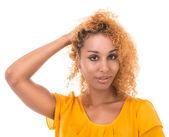 ¿qué peinado para hacer? — Foto de Stock