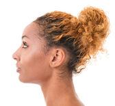 Female profile — Stock Photo