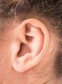 Shape of the ear — Stock Photo
