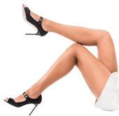 Mooie vrouwelijke benen — Stockfoto