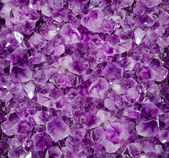 Amethyst druze — Stock Photo