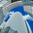 Modern architecture in the business district of La Defense, Pari — Stock Photo