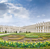 View of Versailles gloomy spring morning — Stock Photo