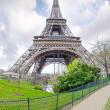 View of the Eiffel Tower — Stock Photo #29989111