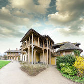 Village of Marie Antoinette at Versailles — Stock Photo
