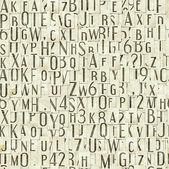 Letter seamless texture — Stock Photo