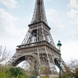 Постер, плакат: View of the Eiffel Tower