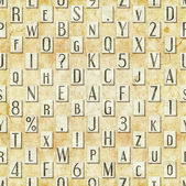 Letter seamless texture — Stock Photo