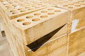 Pile of bricks — Stock Photo