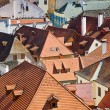 Roof of an old European city — Stock Photo
