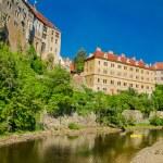 Ver os no castelo em cesky krumlov — Fotografia Stock  #42660945