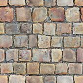 Seamless texture of stone floor — Stock Photo