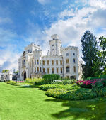 Hluboka nad Vltavou castle — Stock Photo