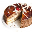 Stock Photo: Sweet biscuit torte