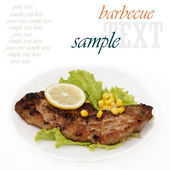 Appetizing barbecue — Stock Photo
