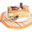 Stock Photo: Sweet biscuit cake