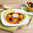 vegetable soup puree — Stock Photo