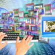 Stockfoto: Internet education