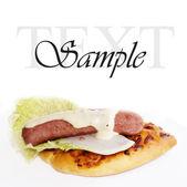 Smakelijk fast-food — Stockfoto