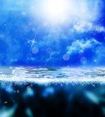 Onderzeese world.nature achtergrond — Stockfoto