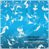 Abstract floral background.Vector illustration eps10 — Stock Vector